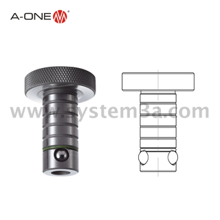 Locating and locking ball lock shaft-Metric system 3A-700004